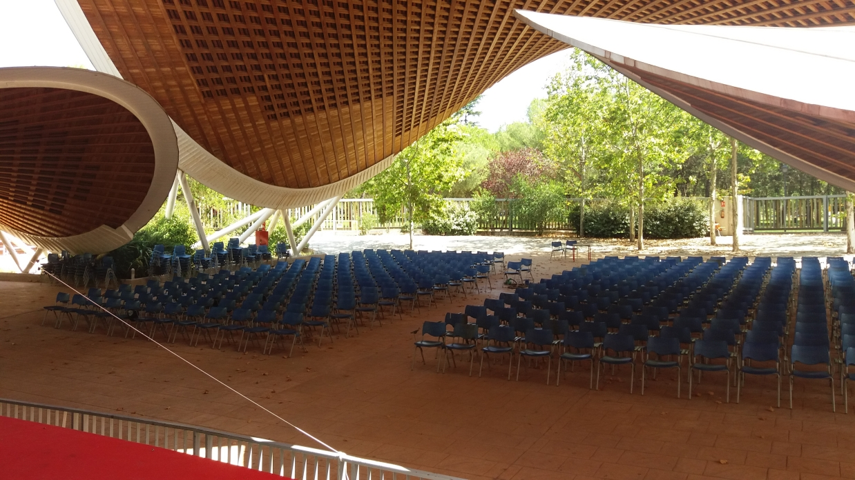 Fotos del auditorio Parsaíso donde se celebrará el acto